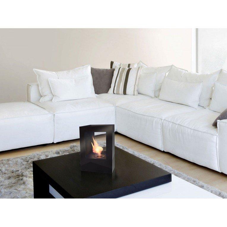 chemin e bio ethanol helios b de purline chemin e de table design et moderne. Black Bedroom Furniture Sets. Home Design Ideas