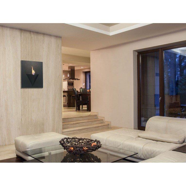 Afrodita chimenea bioetanol mural para interior y for Interior y exterior