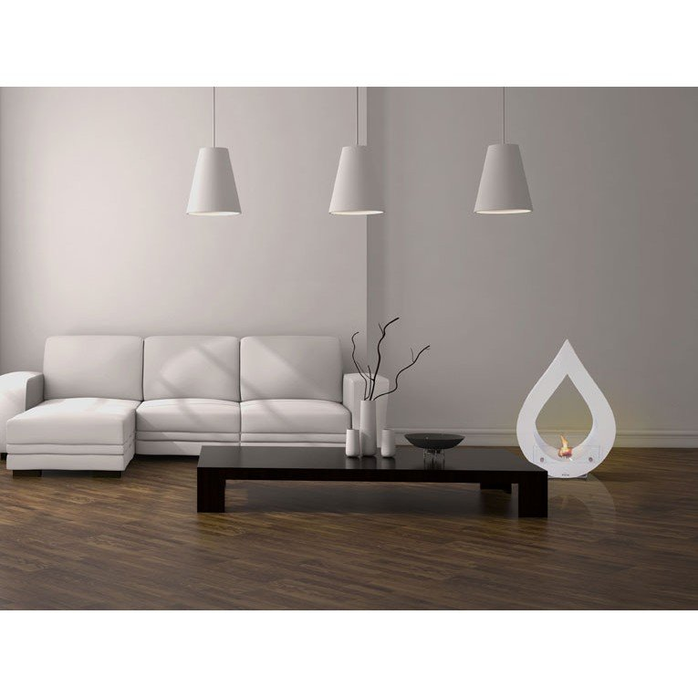 cheminee bio ethanol a poser au sol. Black Bedroom Furniture Sets. Home Design Ideas