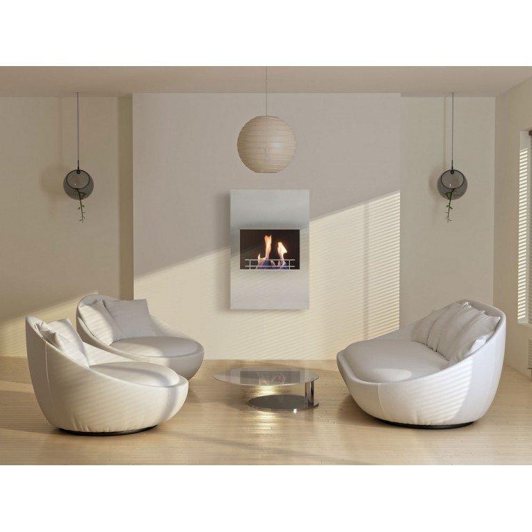 chemin e murale bio thanol persefone de purline v ritable. Black Bedroom Furniture Sets. Home Design Ideas