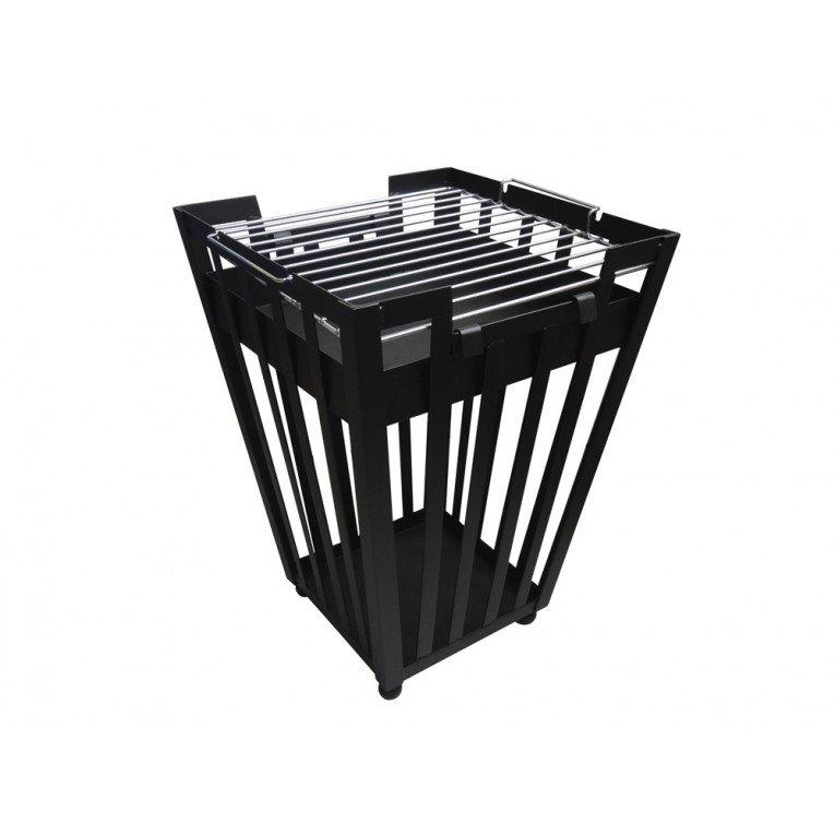 brasero bois efp1 de purline un chauffage de terrasse cologique. Black Bedroom Furniture Sets. Home Design Ideas