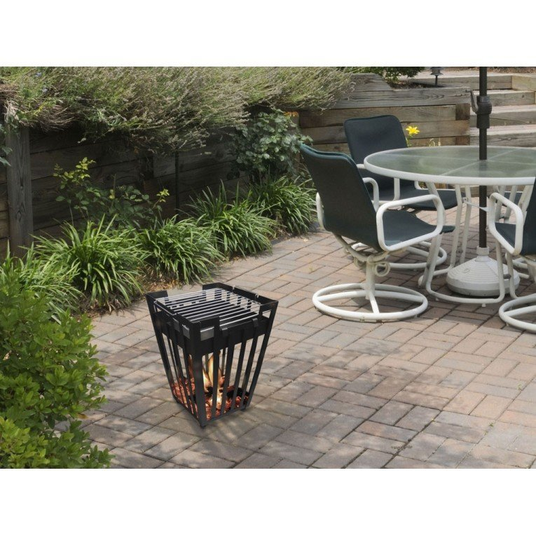brasero bois efp1 de purline un chauffage de terrasse. Black Bedroom Furniture Sets. Home Design Ideas