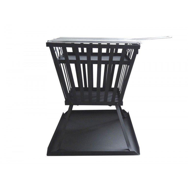 brasero bois efp3 de purline un chauffage de terrasse cologique. Black Bedroom Furniture Sets. Home Design Ideas