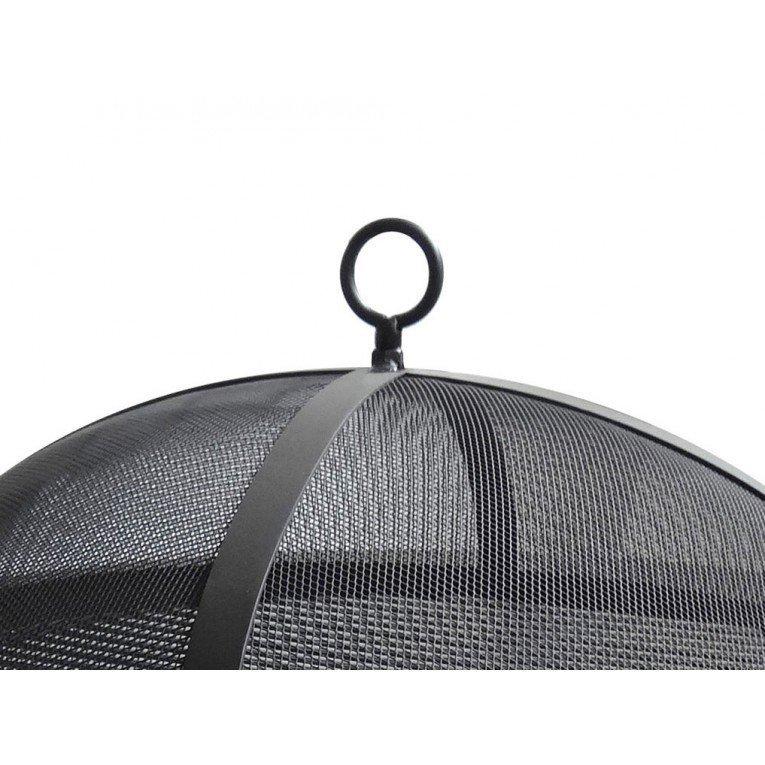 Brasero bois efp4 de purline un chauffage de terrasse for Foyer exterieur acier