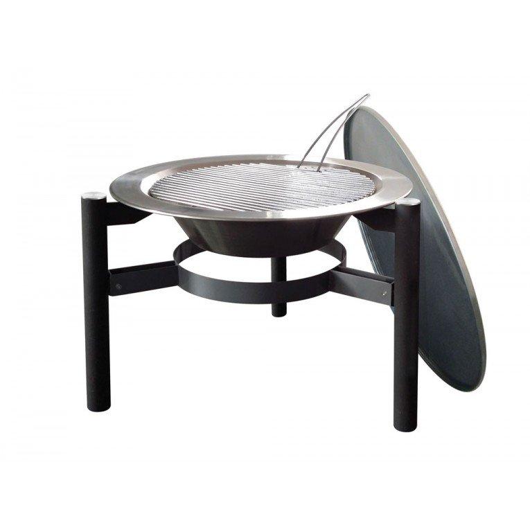 brasero bois efp5 de purline une table basse et un chauffage de terrasse cologique. Black Bedroom Furniture Sets. Home Design Ideas