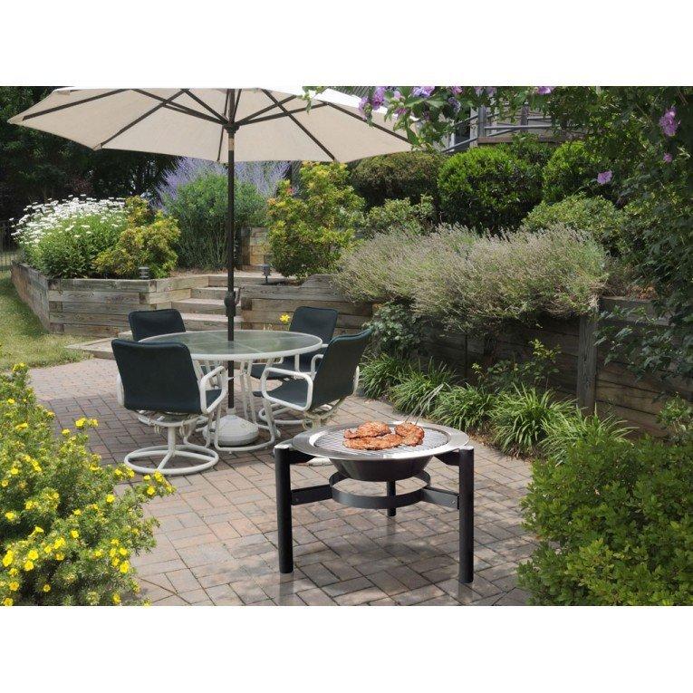 table basse jardin brasero. Black Bedroom Furniture Sets. Home Design Ideas