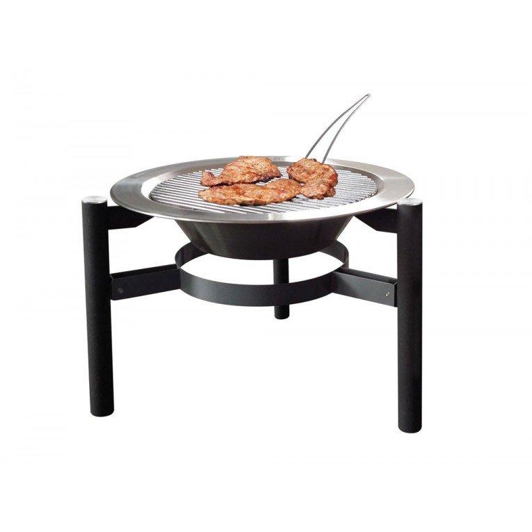 brasero efp5 de purline un brasero ext rieur en acier noir un poele bois exterieur et un. Black Bedroom Furniture Sets. Home Design Ideas