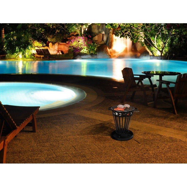 terrasse chauffage terrasse brasero panier accueil design et mobilier. Black Bedroom Furniture Sets. Home Design Ideas