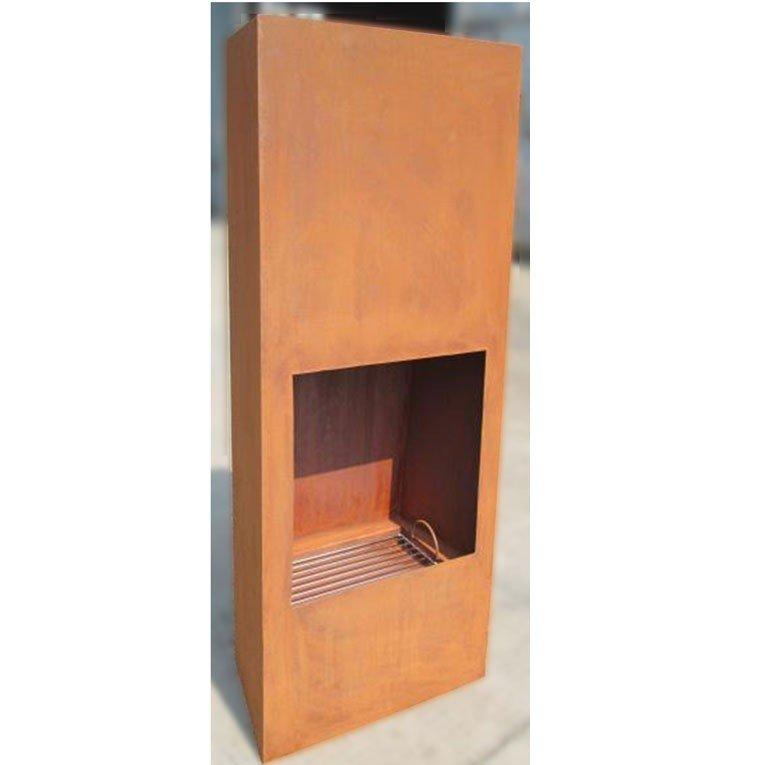 Brasero efp1 de purline un brasero ext rieur en acier noir un poele bois exterieur et un - Poele a bois original ...