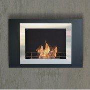 Boreas, cheminée murale bio-éthanol Purline®, la cheminée tableau décorative