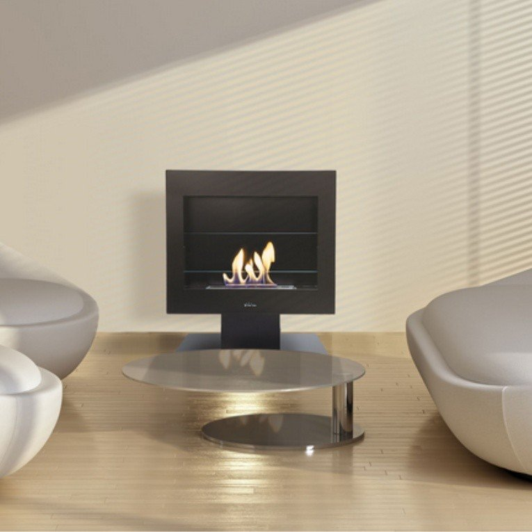 cheminee bio ethanol sur pied. Black Bedroom Furniture Sets. Home Design Ideas