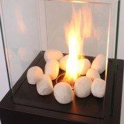 Dekosteine für Bioethanol Kamin