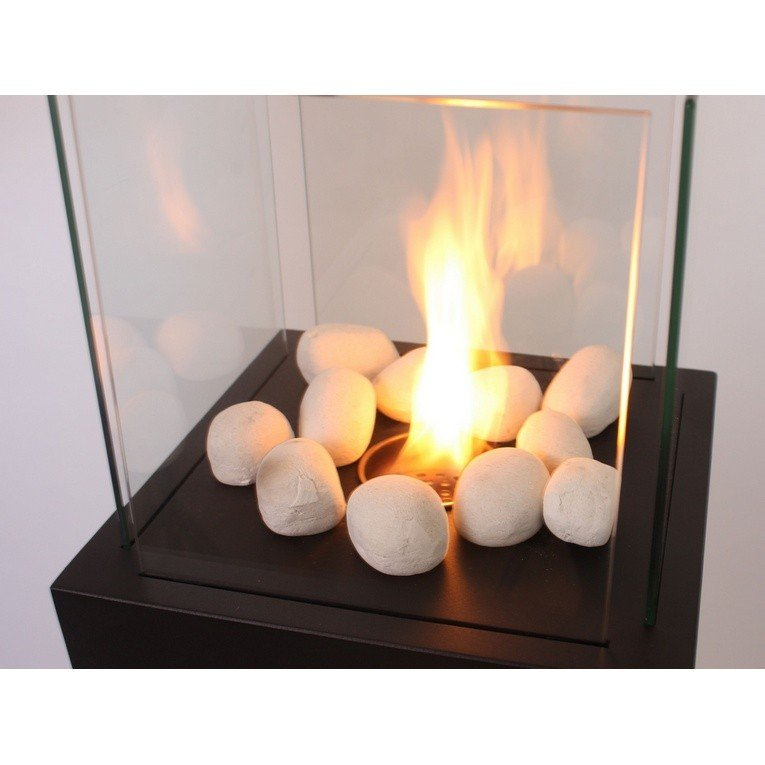 Piedras decorativas color blanco purline wincbtout 05 - Accesorios para chimeneas decorativas ...