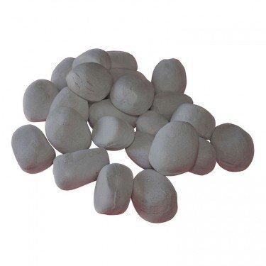 pierres d coratives de couleur grise en c ramique pour. Black Bedroom Furniture Sets. Home Design Ideas