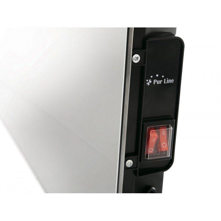 Zafir H1500 Lux Convecteur Lectrique Purline Extra Plat Fa Ade Verre