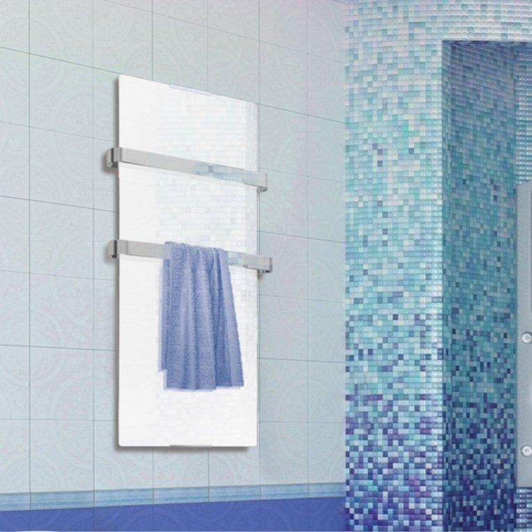 Zafir v600t lux radiateur s che serviettes lectrique purline extra plat for Radiateur extra plat