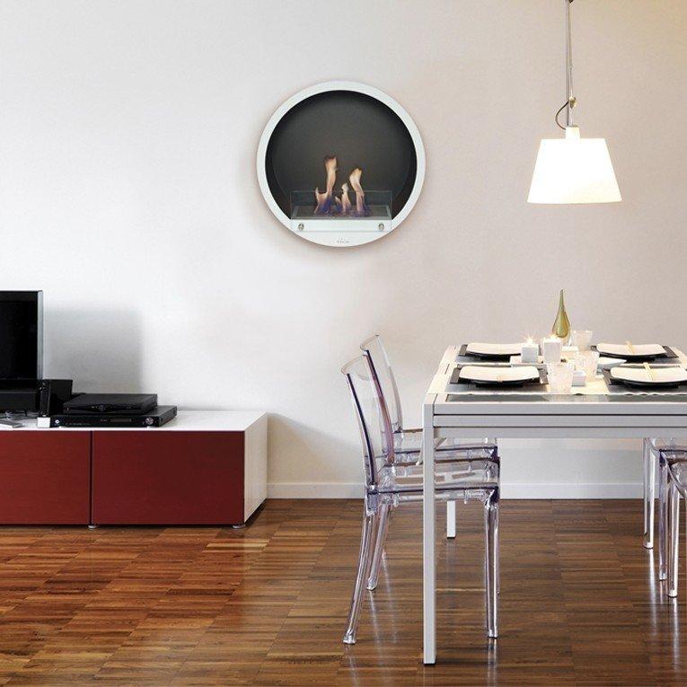 chemin e bio ethanol ronde design moderne une r ussite sign e purline. Black Bedroom Furniture Sets. Home Design Ideas