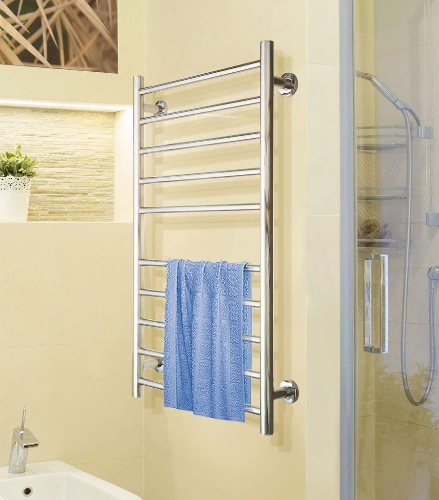 seche serviette electrique 40 cm chrome. Black Bedroom Furniture Sets. Home Design Ideas