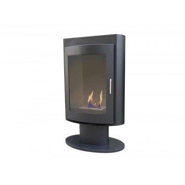 Silensus, poêle a bois bio-éthanol Purline® une cheminée poêle a bois.