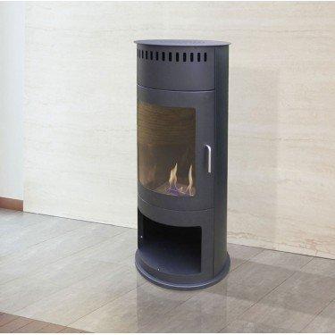 Talia B Floor Bioethanol Fireplace Purline Pyramidal Biocheminee