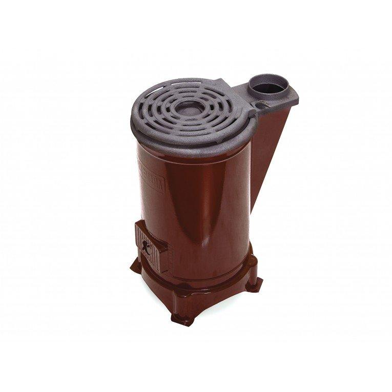 poêle à bois ou charbon Eco Cook de Purline, 6 kw rond, en  ~ Poele A Bois Fonte Ou Acier