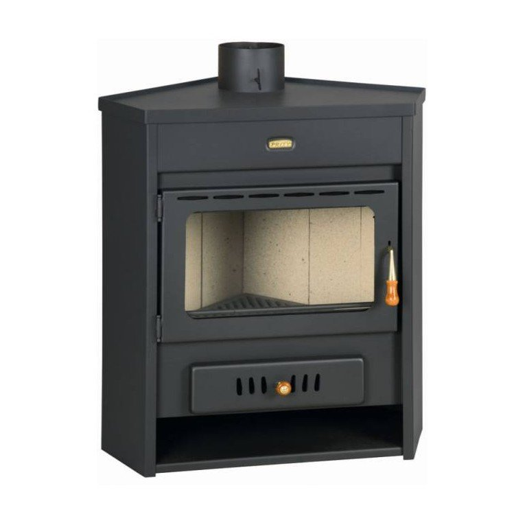 amw12 po le a bois chaudi re d 39 angle puissant et simple. Black Bedroom Furniture Sets. Home Design Ideas