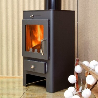 Marinela White, Wood Stove 7Kw To 12 Kw , Convection Effect