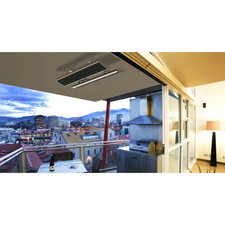 chauffage de terrasse infrarouge sans lumi re 1500 watts. Black Bedroom Furniture Sets. Home Design Ideas
