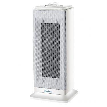 Chauffage soufflant céramique d'appoint 2000 Watts avec télécommande, une colonne de chauffage puissante.