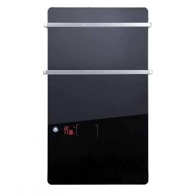 zafir v2000 bl radiateur s che serviettes lectrique purline extra plat detecteur de mouvement. Black Bedroom Furniture Sets. Home Design Ideas