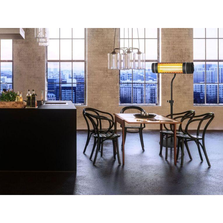che 500 une chemin e lectrique d corative fa ade verre. Black Bedroom Furniture Sets. Home Design Ideas