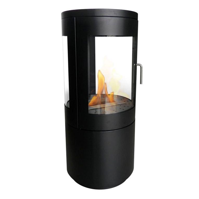 po le au bio ethanol de purline une hybride poele a bois. Black Bedroom Furniture Sets. Home Design Ideas