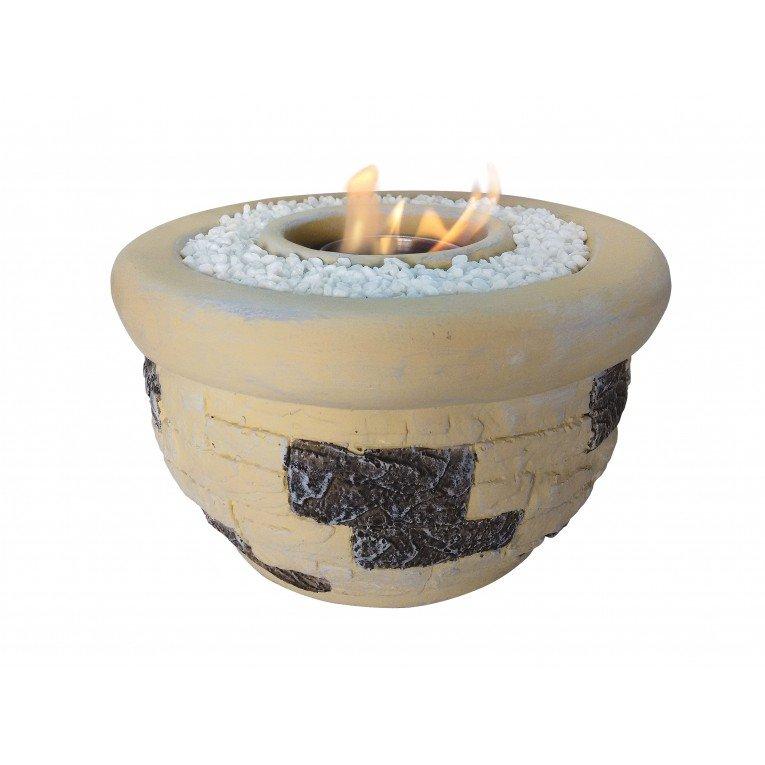 Chemin e bio thanol en terre cuite for Boisseau de cheminee en terre cuite