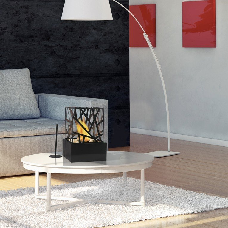 chemin e bio ethanol de table design et moderne. Black Bedroom Furniture Sets. Home Design Ideas