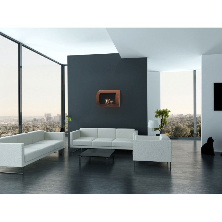 chemin e bio thanol murale bronze m tallis e. Black Bedroom Furniture Sets. Home Design Ideas