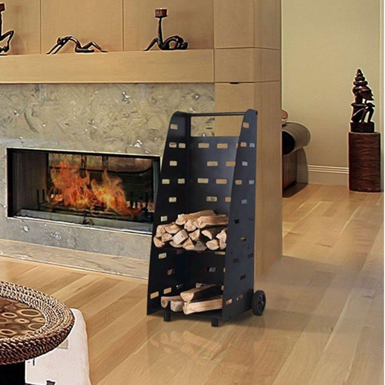 chariot e transport de bois design. Black Bedroom Furniture Sets. Home Design Ideas