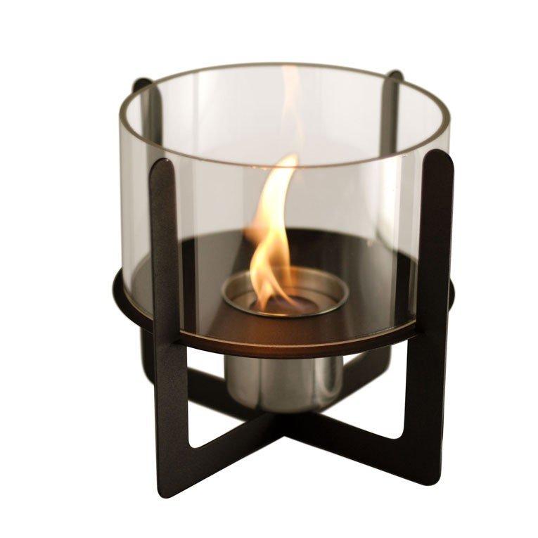 Chemin e bio thanol de table ultra design super prix - Cheminee metal design ...