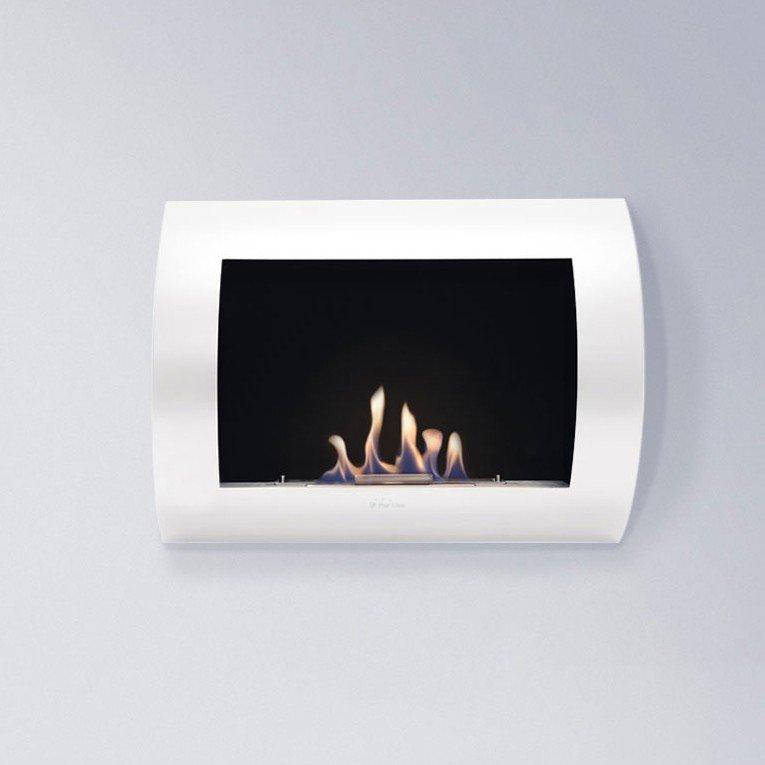 inox clasic de purline est l 39 une des chemin e bio thanol best seller de la marque. Black Bedroom Furniture Sets. Home Design Ideas