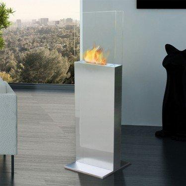 chemin e bio ethanol sur pied. Black Bedroom Furniture Sets. Home Design Ideas