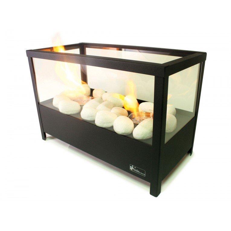 chemin e bio thanol de table ultra design blanche. Black Bedroom Furniture Sets. Home Design Ideas