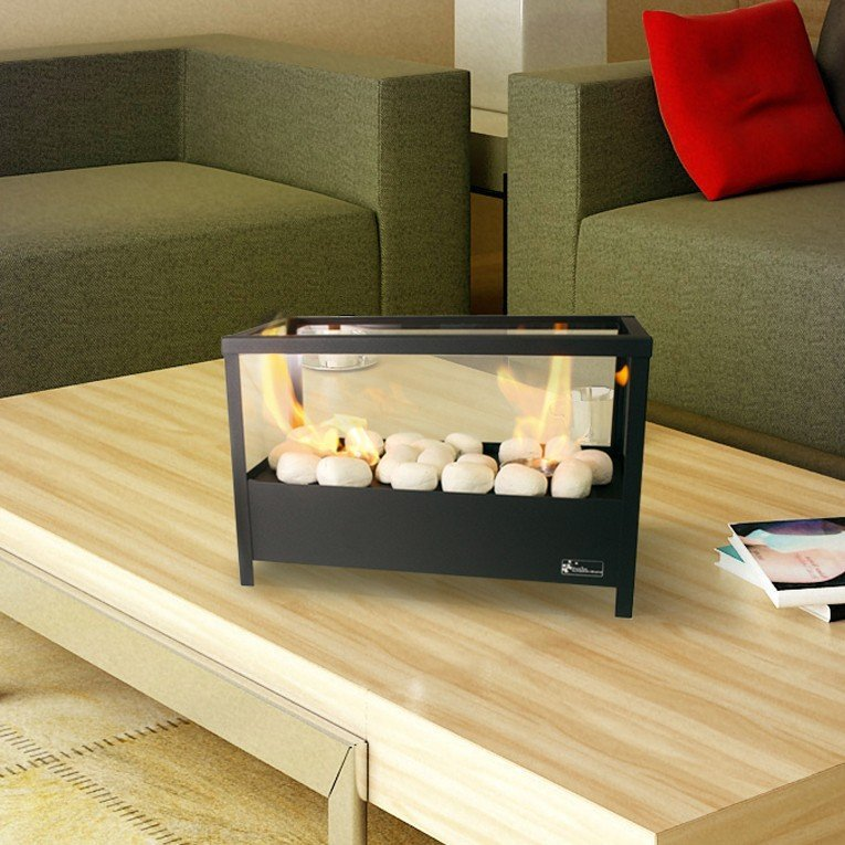cheminee bio ethanol de table design. Black Bedroom Furniture Sets. Home Design Ideas